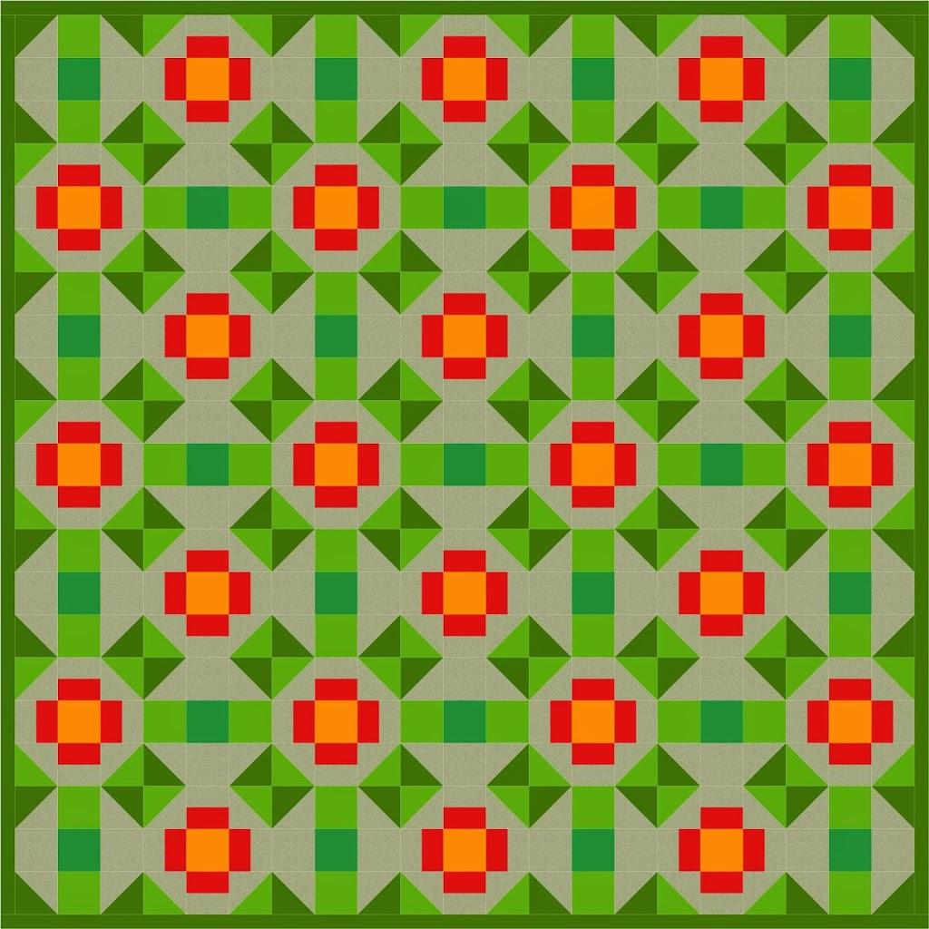Free Quilt Pattern Friday Marigold A Little Crispy