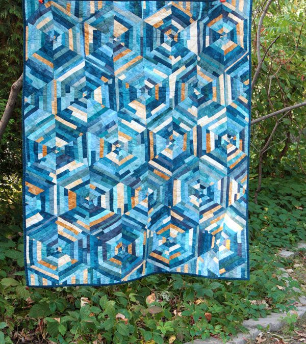New quilt pattern! Crystallized