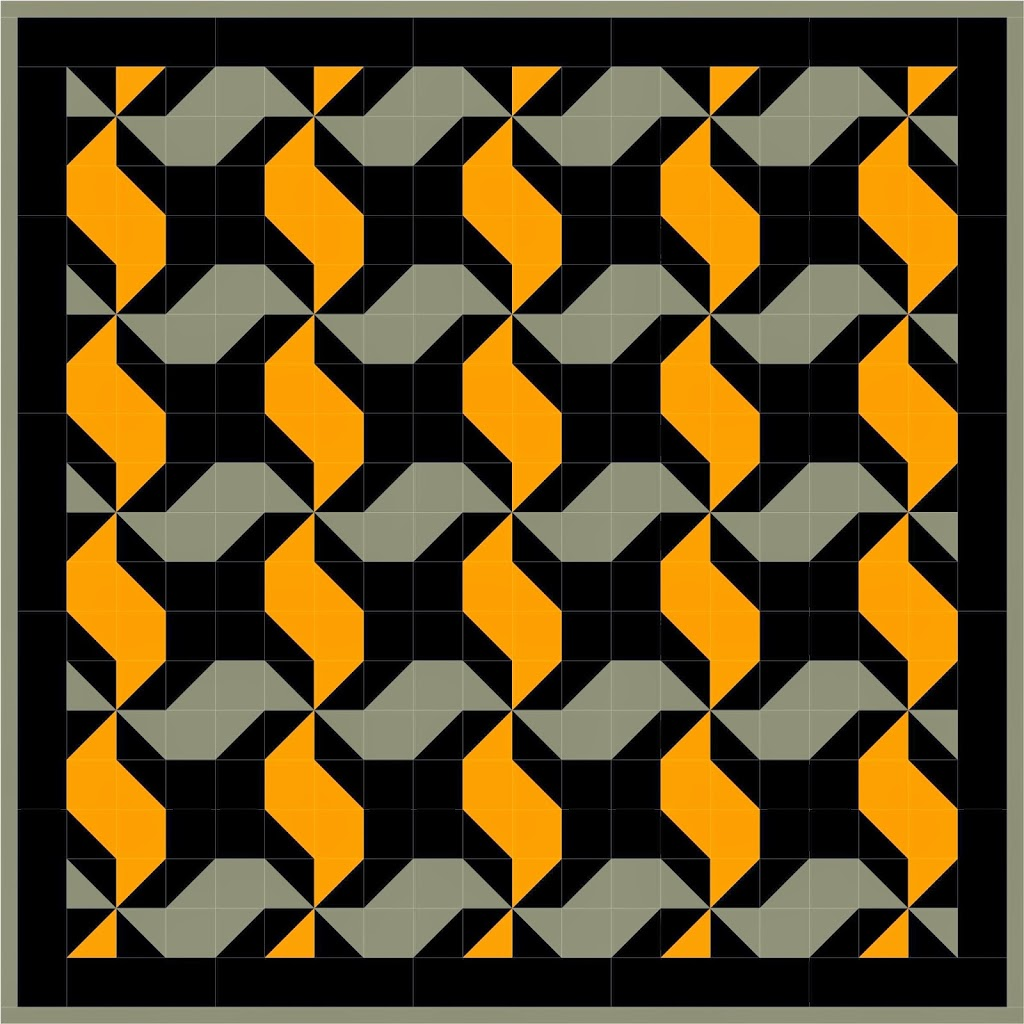 Free quilt pattern Friday! Tire tread