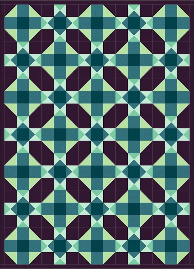 Free quilt pattern Friday! Aster