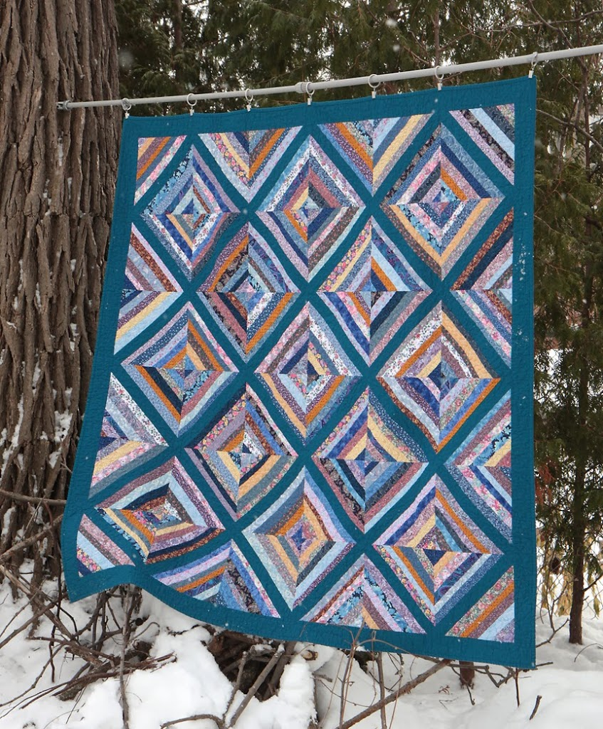 A quilt finish!