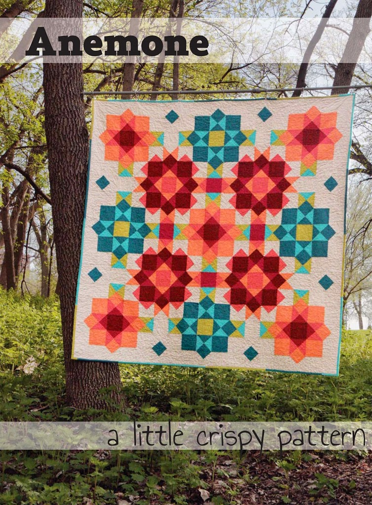 A new quilt pattern! Anemone
