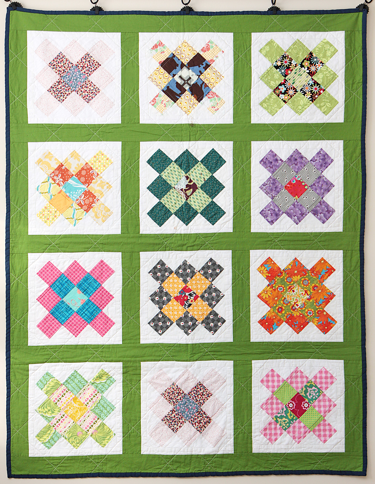 Granny square block swap