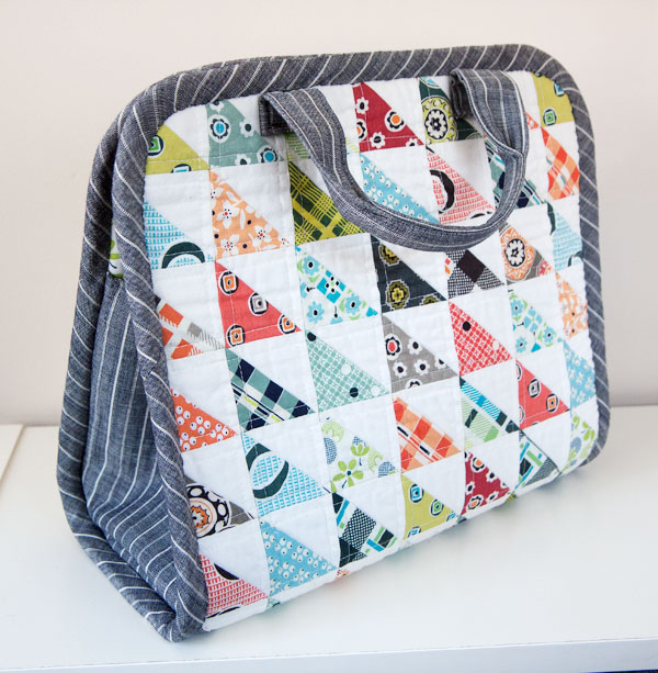 52 zippers #28: Small Maker's Tote