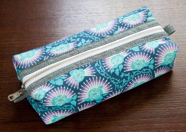 52 zippers #46: Sotak boxy pouch