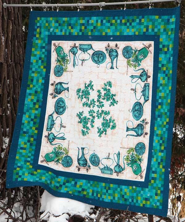 Mosaic tablecloth