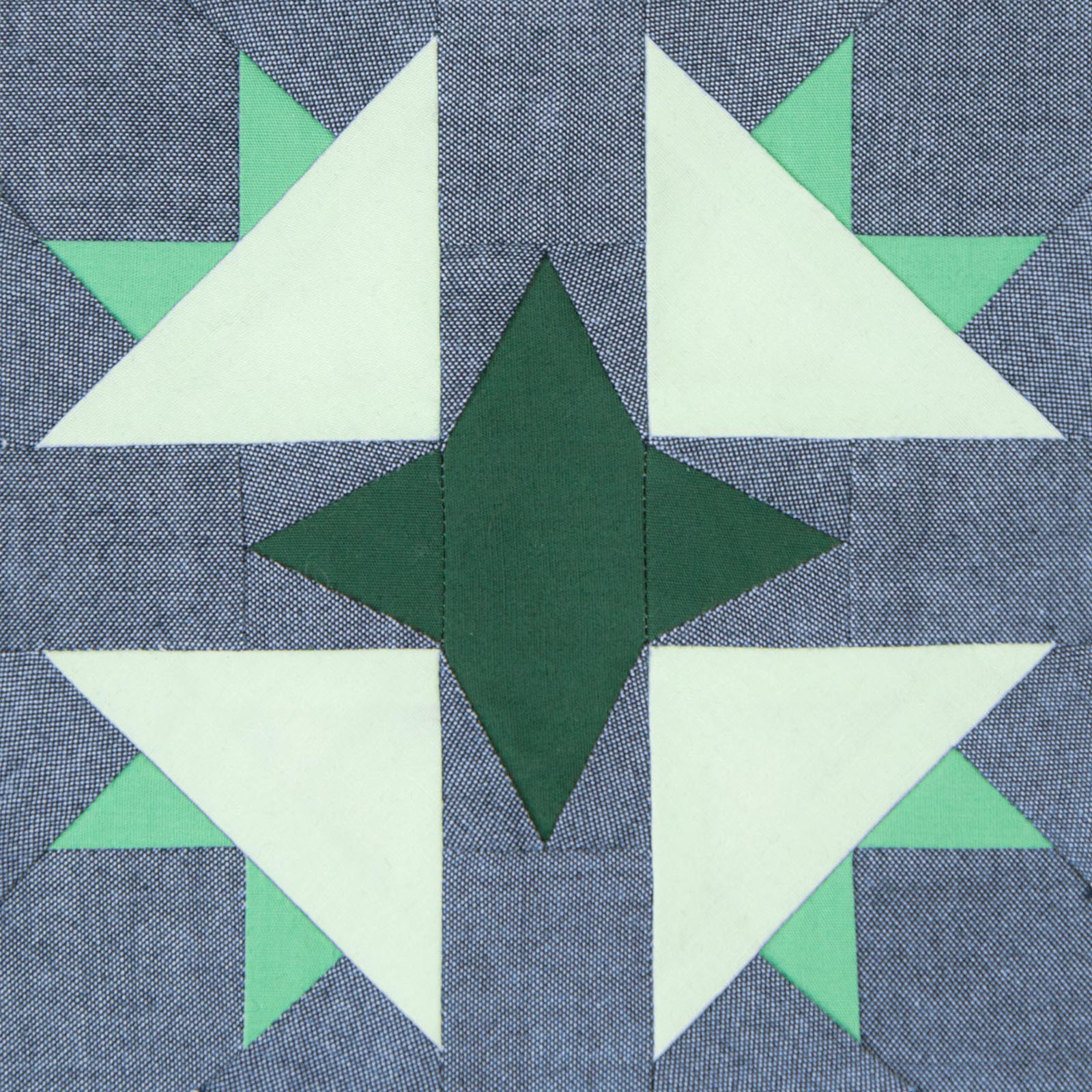 Lodestars quilt block #5: Sylvia