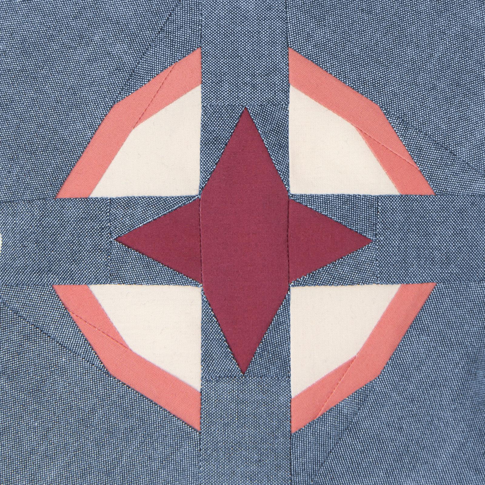 Lodestars quilt block #10: Grace