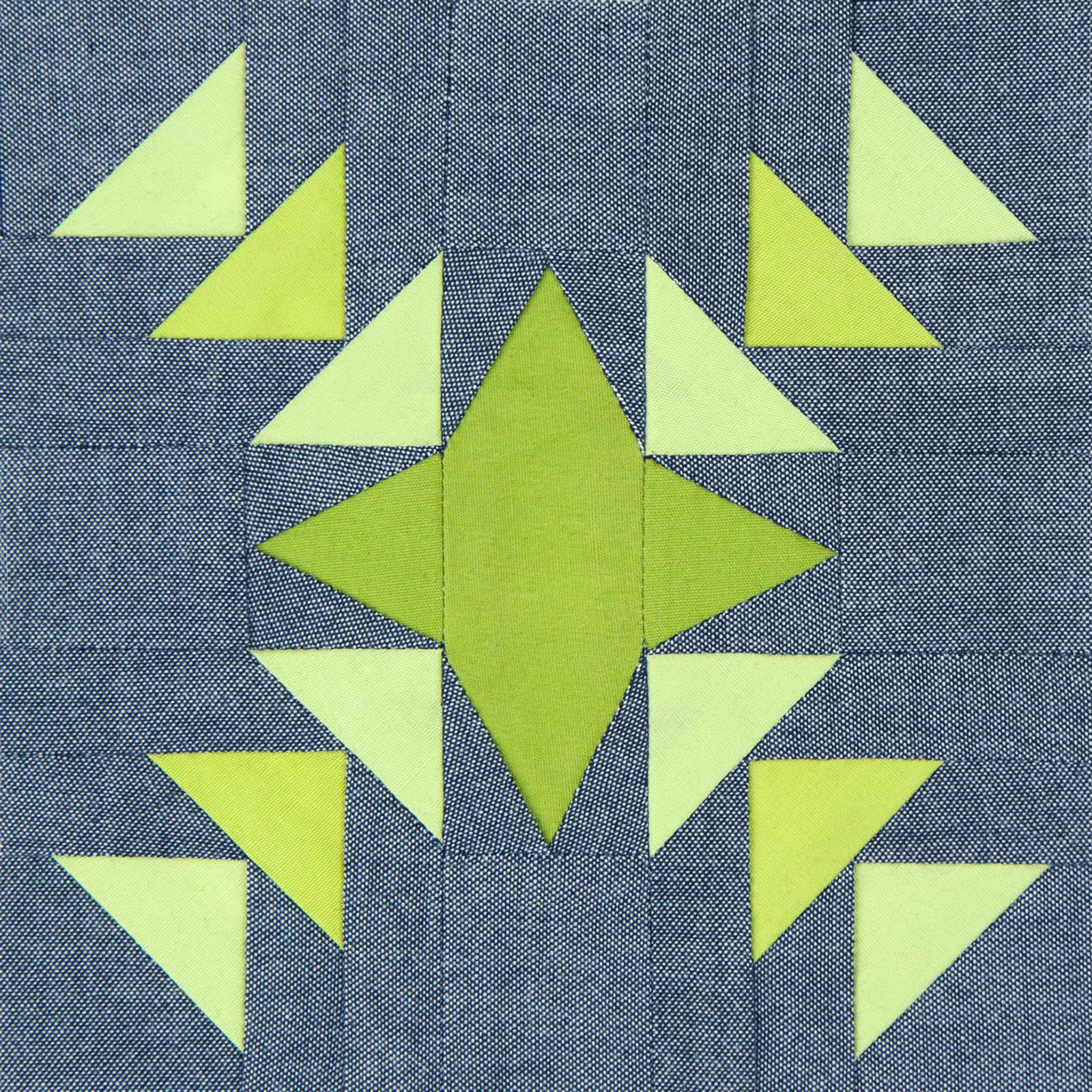 Lodestars quilt block #13: Margaret