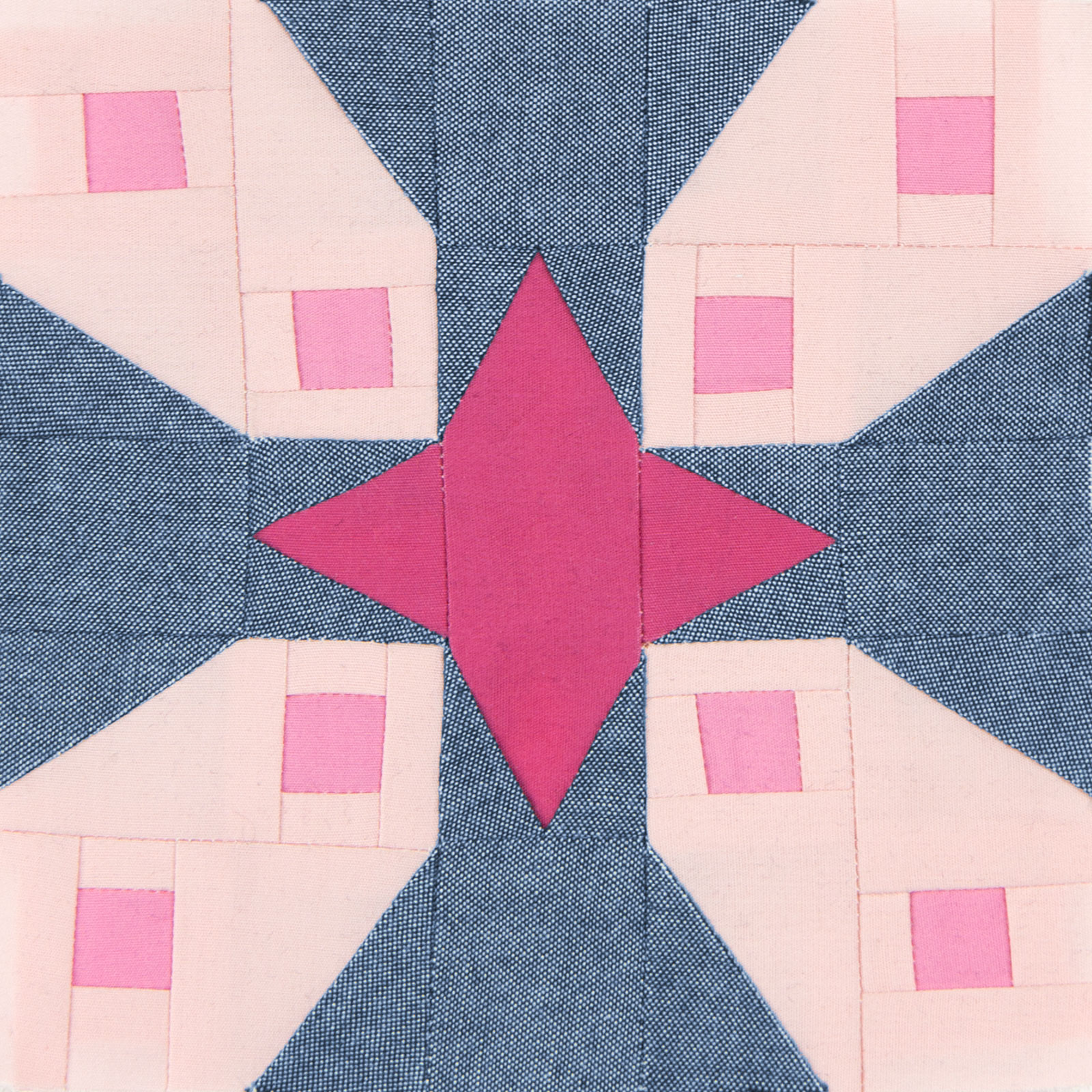 Lodestars quilt block #9: Hermila