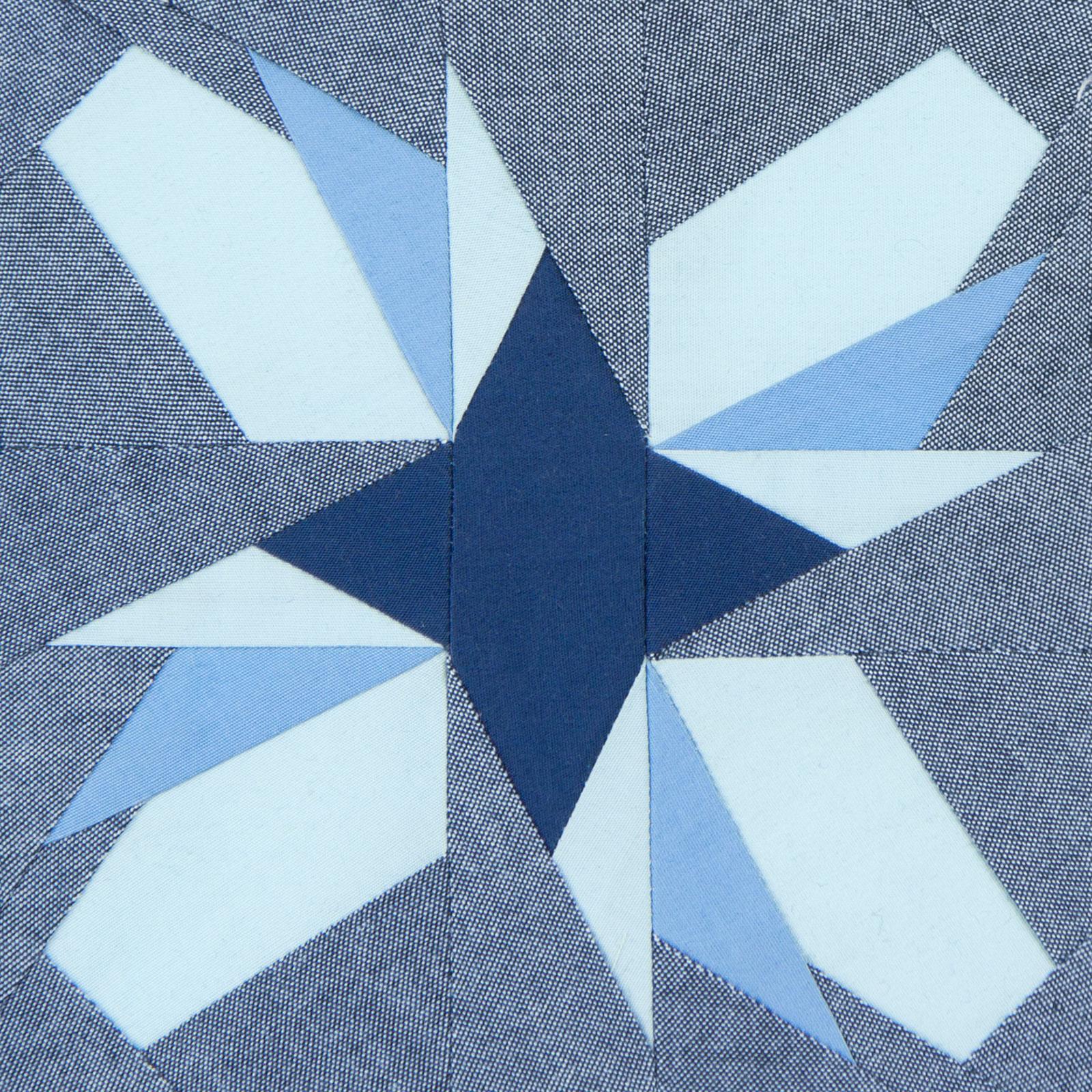 Lodestars quilt block #16: Shirley