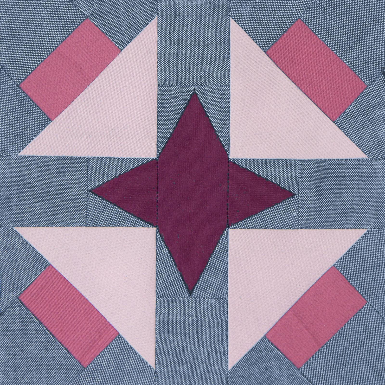Lodestars quilt block #18: Sarah