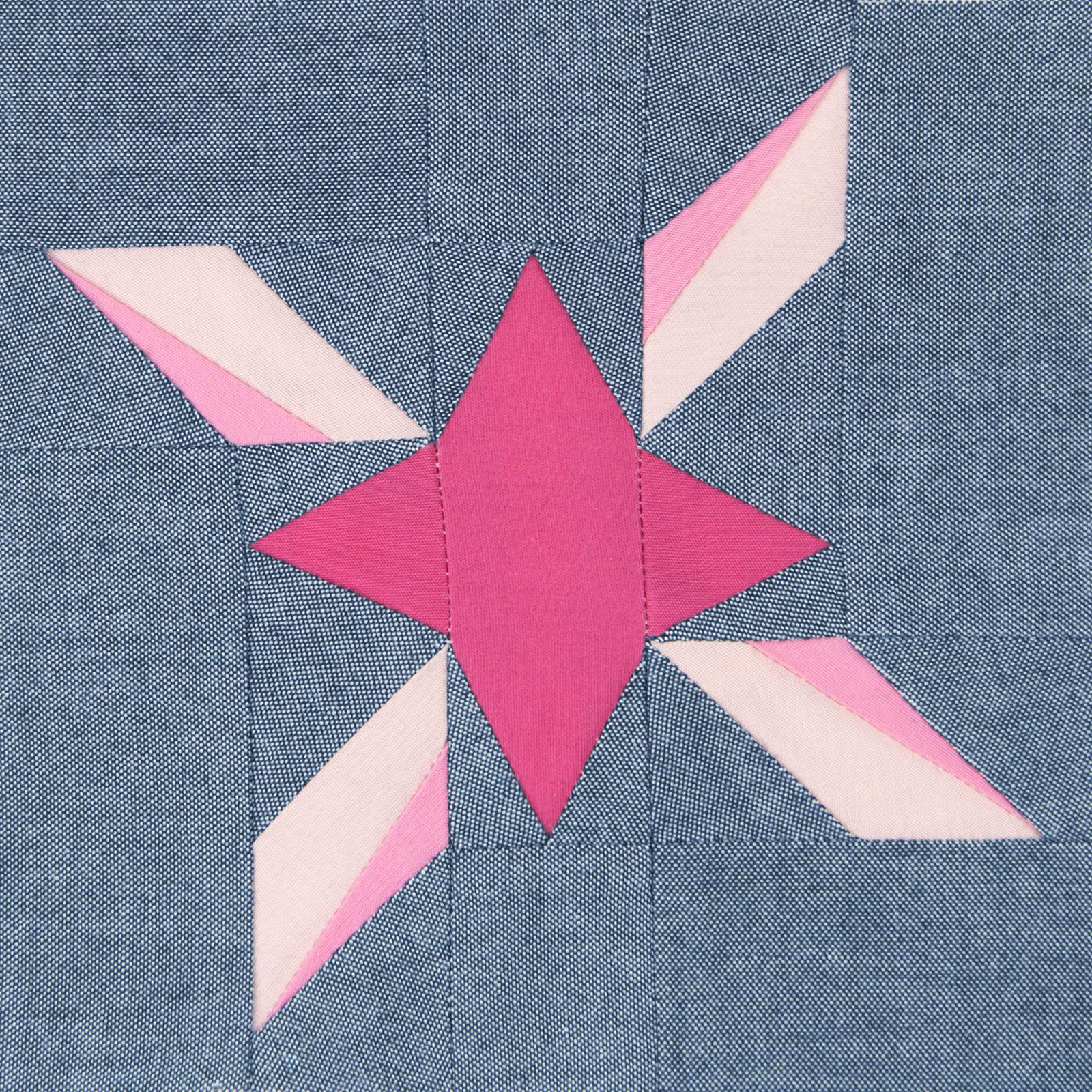 Lodestars quilt block #21: Eunice