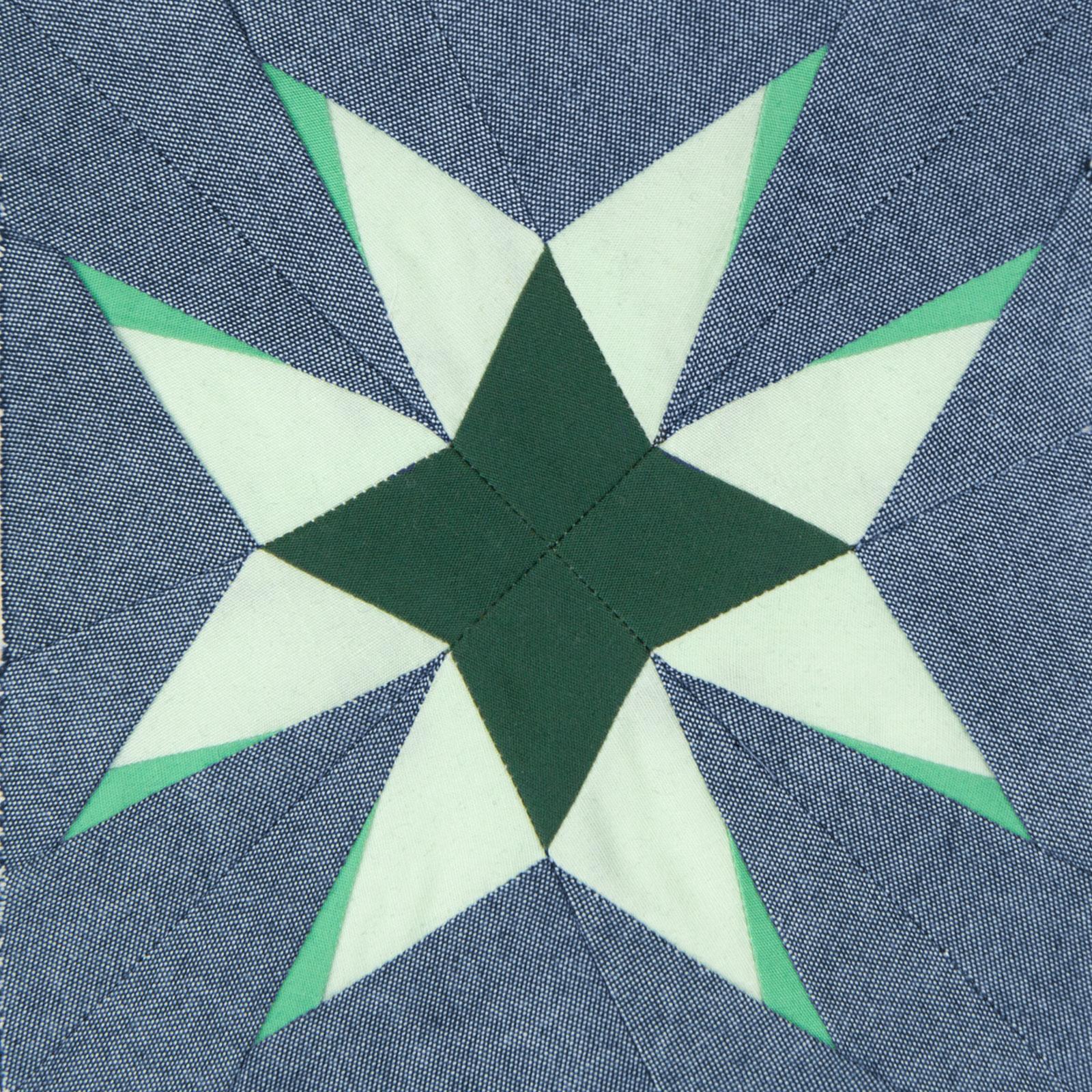 Lodestars quilt block #25: Josephine B