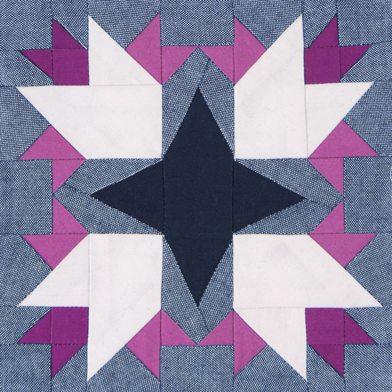 Lodestars quilt block #29: Eleanor