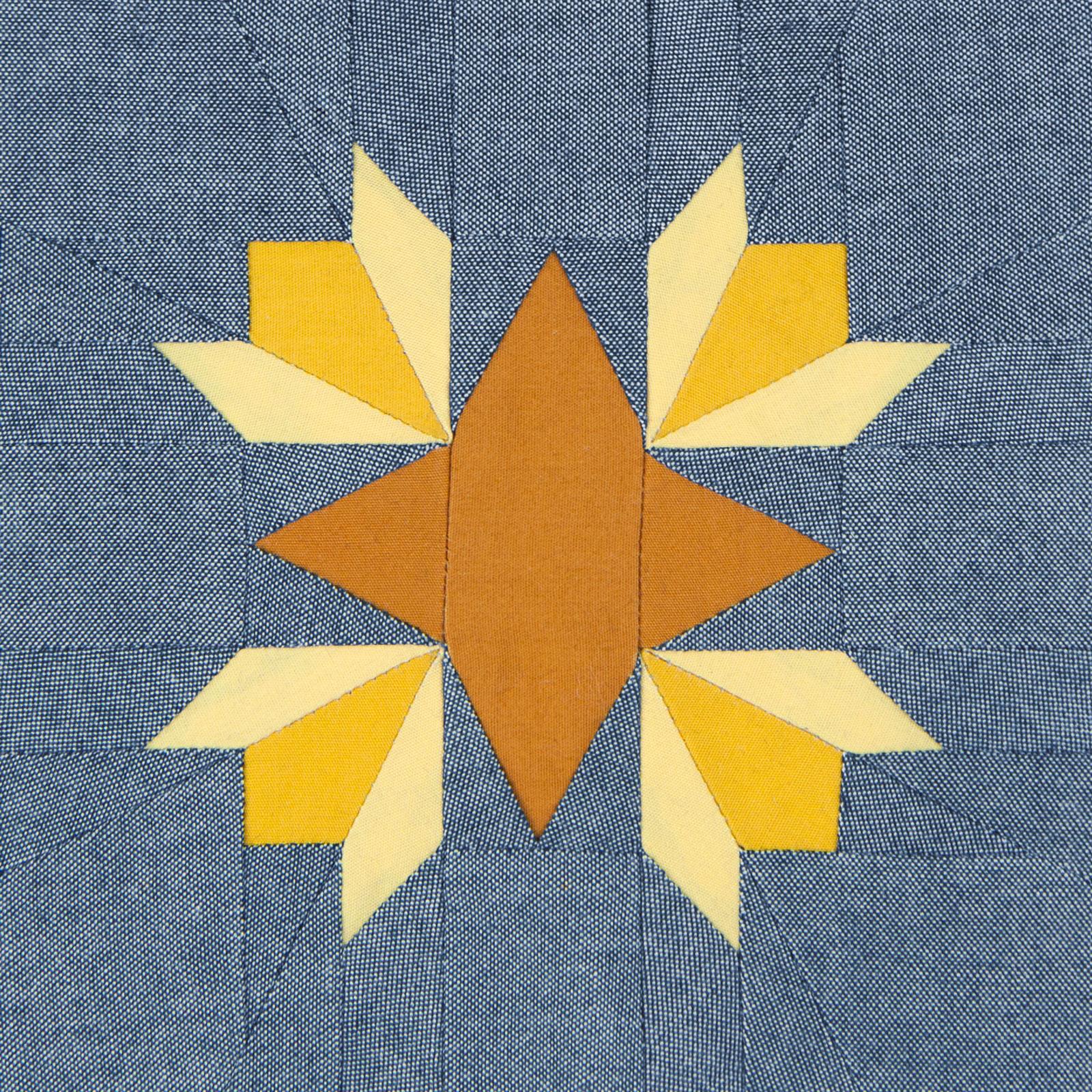 Lodestars quilt block #30: Dorothy H