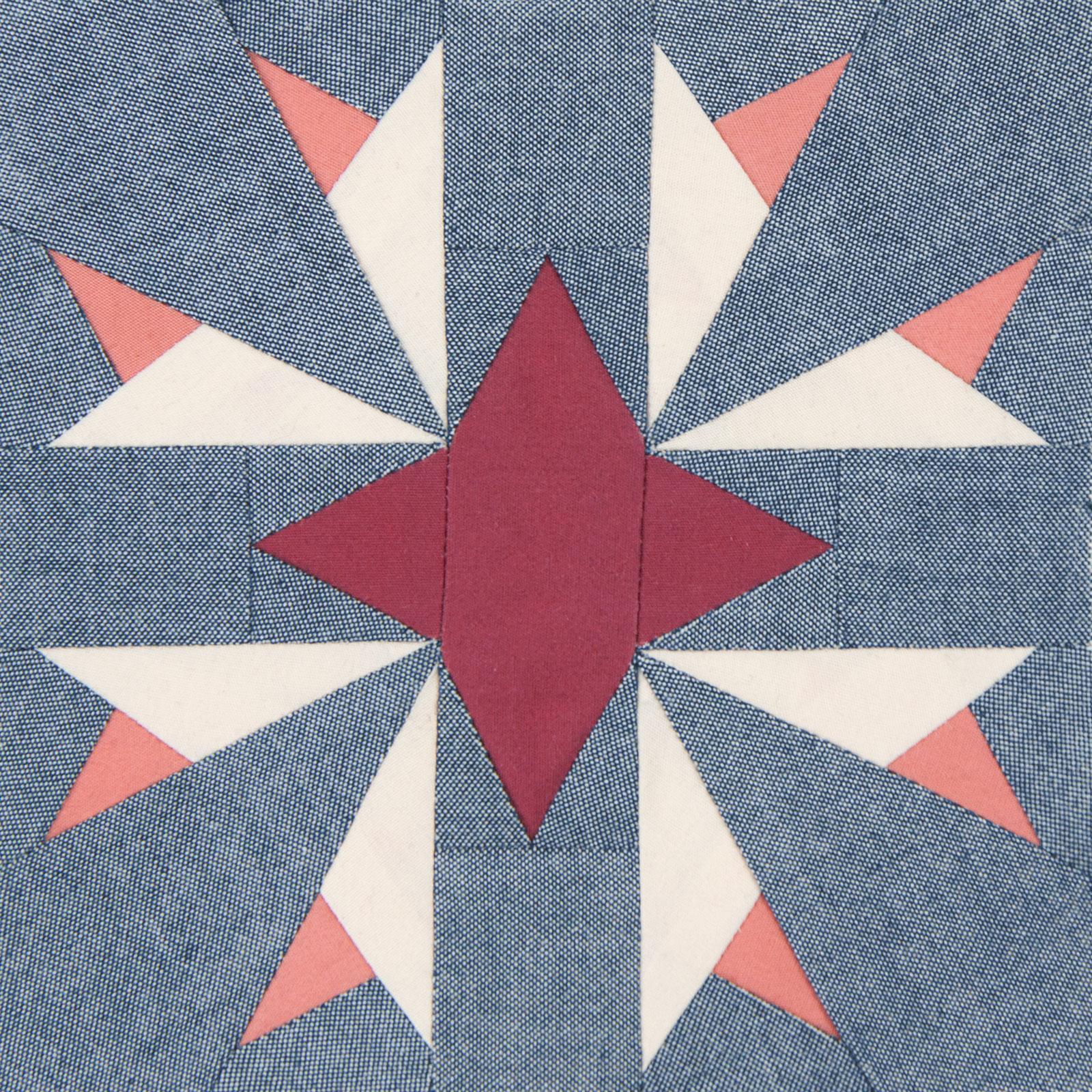 Lodestars quilt block #32: Zaynab