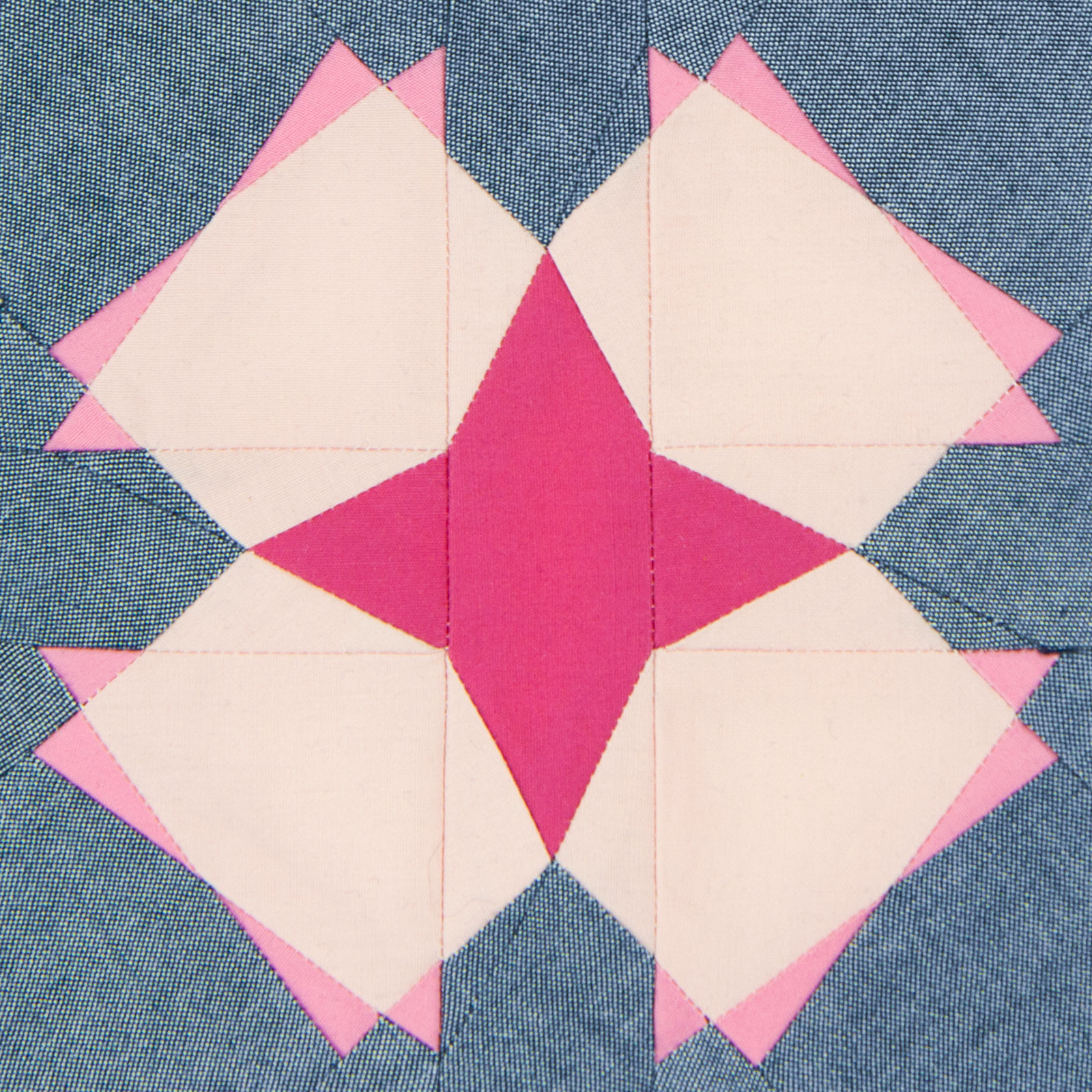 Lodestars quilt block #34: Harriet