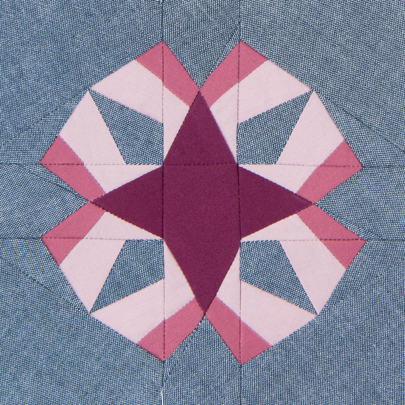 Lodestars quilt block #35: Maggie W