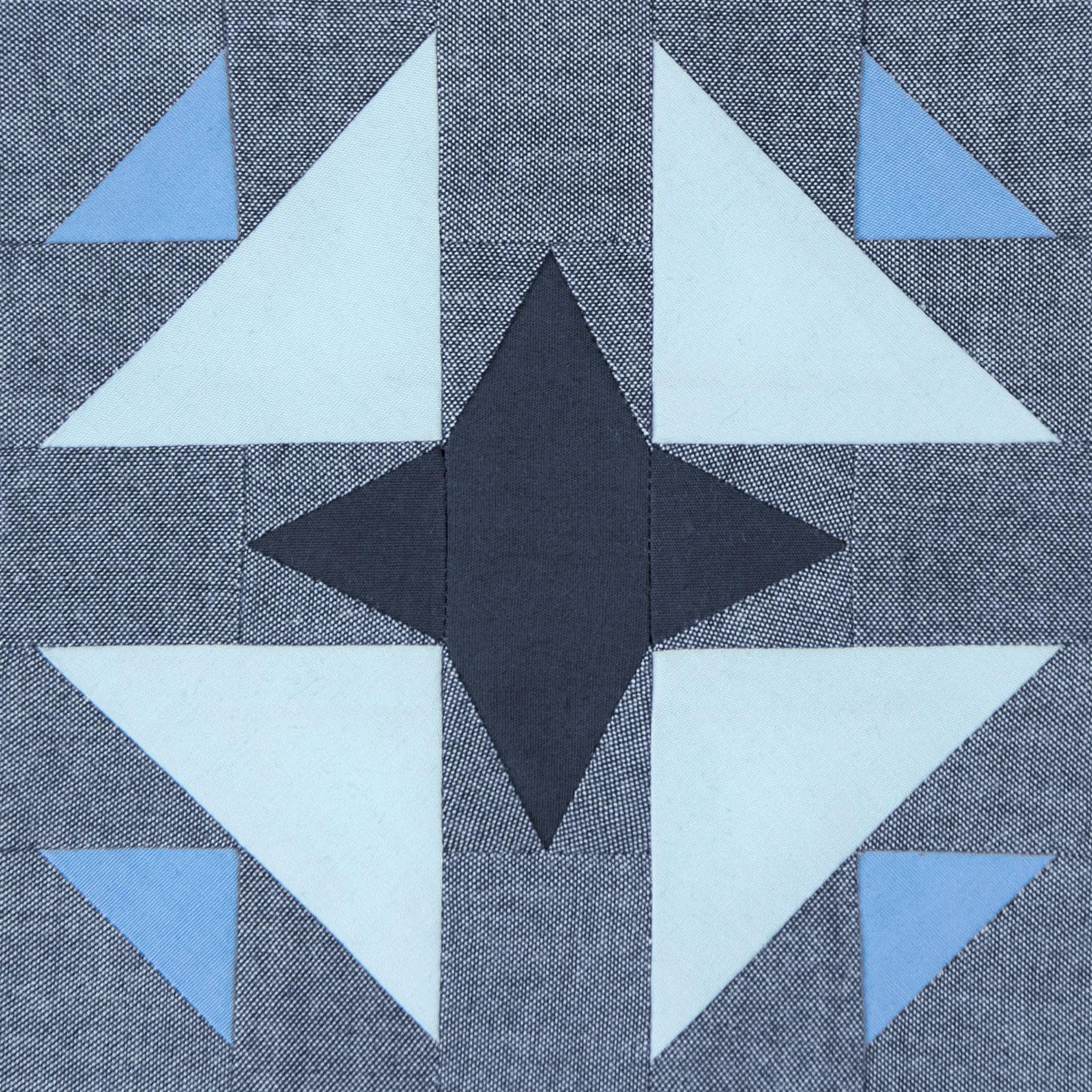 Lodestars quilt block #39: Huda