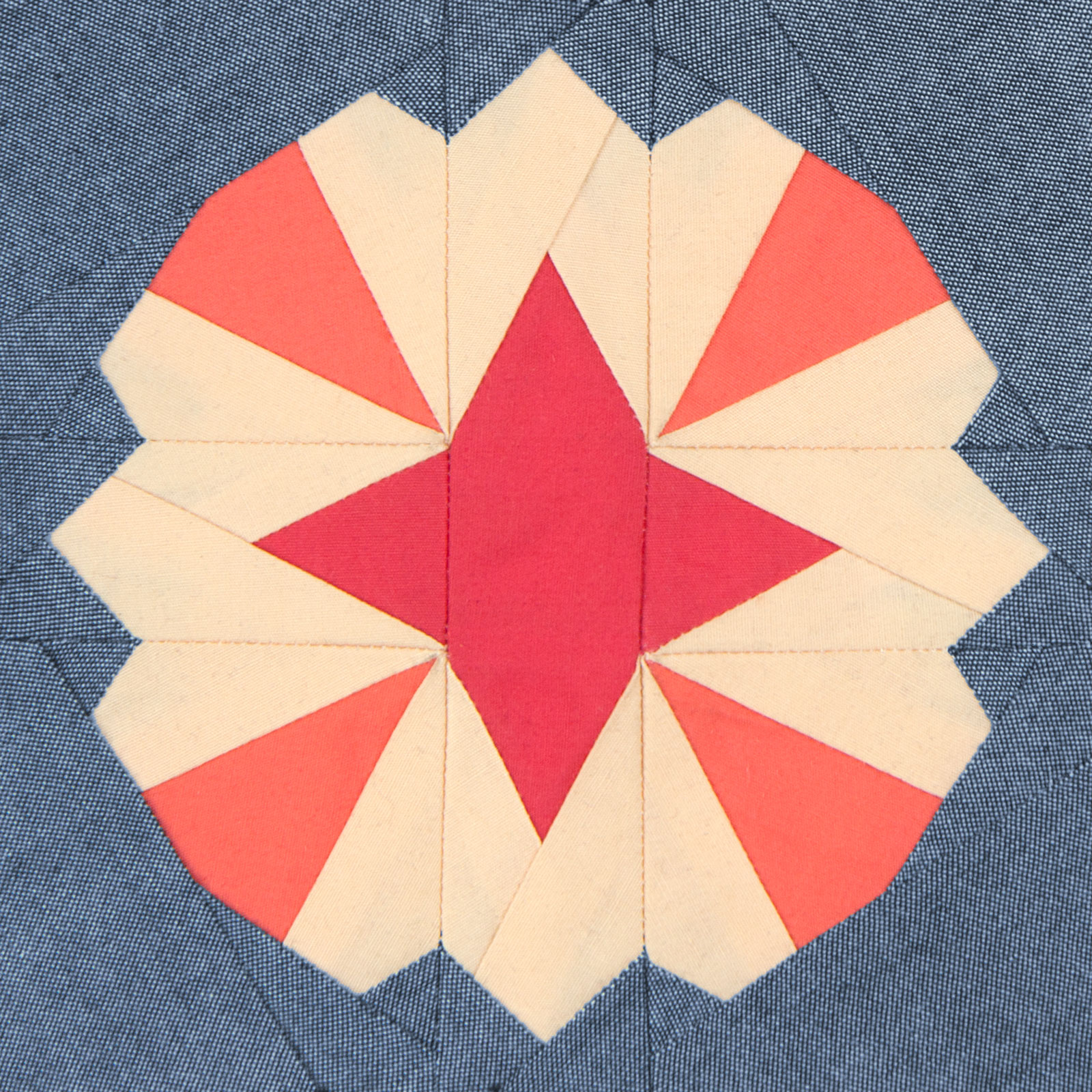 Lodestars quilt block #44: Helen