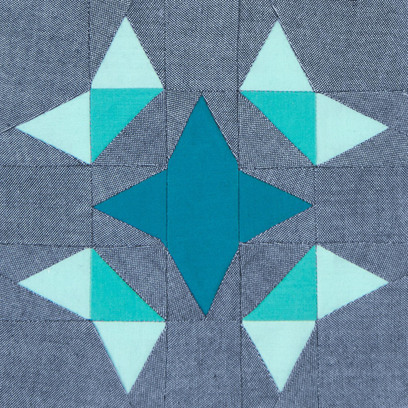 Lodestars quilt block #46: Mirabal